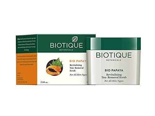 Pack of 2 - Biotique Bio Papaya Revitalizing Tan-removal Scrub - 75 G