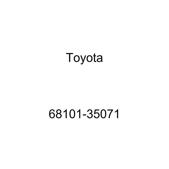 Toyota 68101-35071 Door Glass Sub Assembly