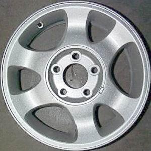 Ford Mustang 15x7 3304 Factory Original Equipment OEM Silver Silver Refurbished Wheel Rim