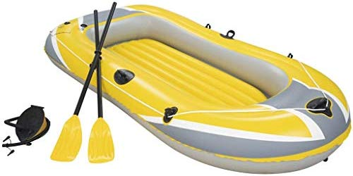 Barca hinchable Hydro-Force con Remos e Hinchador de pie ...
