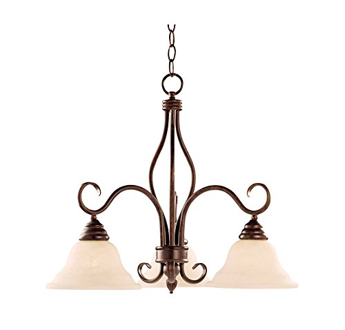 Bryce 3 Light Chandelier - 4