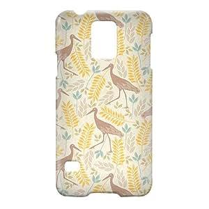 Loud Universe Samsung Galaxy S5 Spring Flamingo Print 3D Wrap Around Case - Multi Color