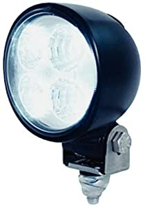 HELLA 996176722 '6176 Series' Multivolt 9-30V DC Module 70 LED Deck Light with Black Housing