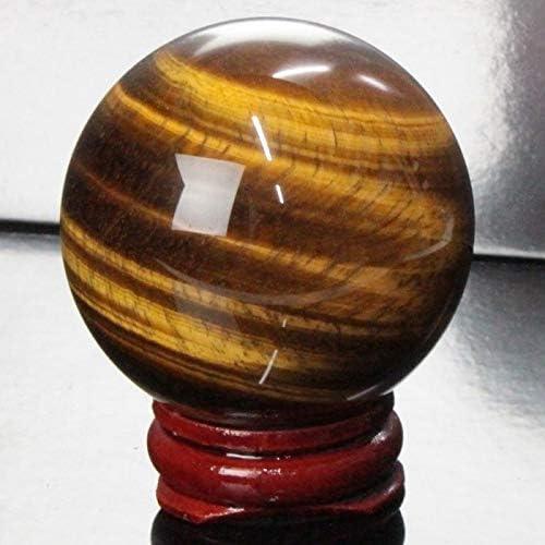 【一点物 47mm玉】 タイガーアイ 丸玉 水晶玉 球体 丸玉 玉 球 原石 Ball 大玉 tigereye 虎目石 魔除け 置物 浄化 パワーストーン 天然石 パワーストーン a20402