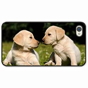iPhone 4 4S Black Hardshell Case grass Desin Images Protector Back Cover