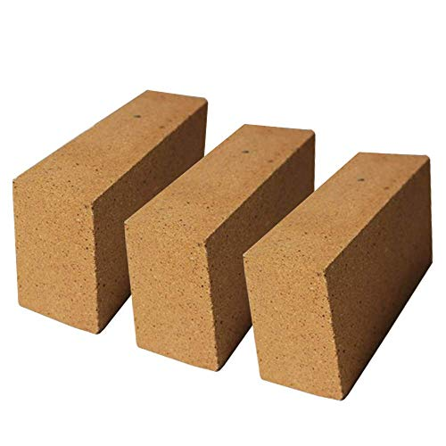 Simond Store 40% Alumina Refractory Fire Brick Kit 2498°F of 3 Replacements 9