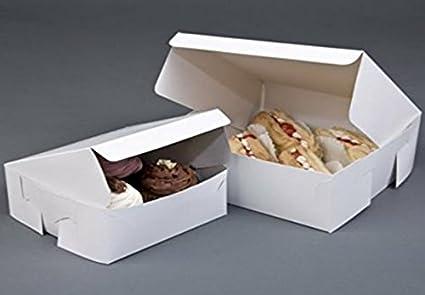 Plegable para tartas cajas – 6 inch – Ideal para pasteles, ...