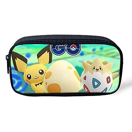 Pokemon Pikachu - Estuche para lápices de gran capacidad ...