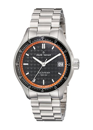 Claude Bernard Men's 70168 3M NO Analog Display Swiss Quartz Silver Watch