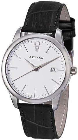 Azzaro Men's AZ2040.12AB.000 Legend Analog Display Swiss Quartz Black Watch (Azzaro Men Quartz)