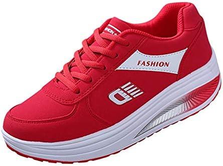 BBestseller-Zapatos Zapatillas Running de Estudiante Sneakers Fitness, Correr En Montaña Asfalto Aire Libre Deportes Casual de Calzado Deportivo (38 EU, Rojo): Amazon.es: Ropa y accesorios
