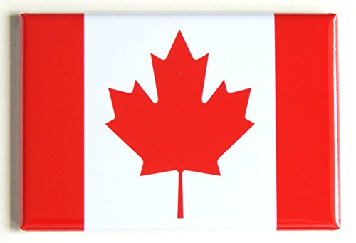 Flag of Canada Fridge Magnet (2 x 3 inches)