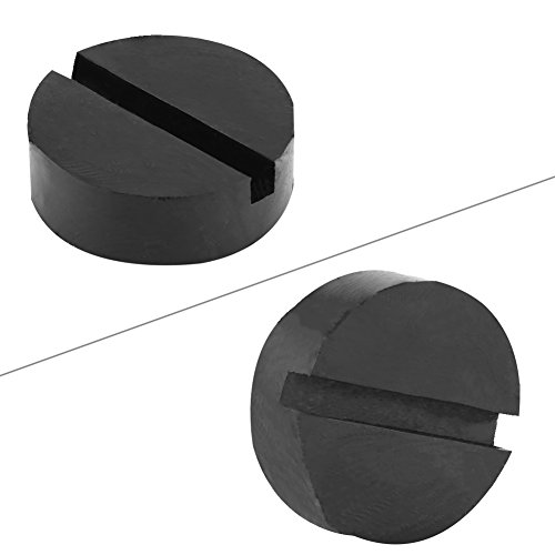 Black Car Rubber Jack Pads Keenso Stand Jacking Point Sill Pad Adapter Tool Jacking Pad Adapter for BMW
