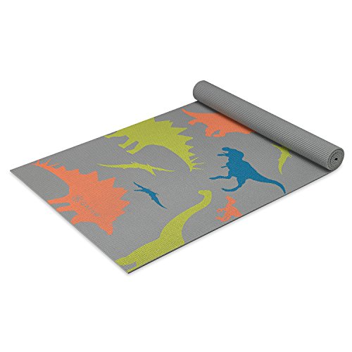 Gaiam Kids Yoga Mat Exercise Mat, Yoga for Kids with Fun Prints – Playtime for Babies, Active & Calm Toddlers and Young Children