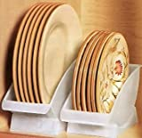 DINNER PLATE CRADLE BY JUMBL & Amazon.com - Vertical Plate Rack-Display or Storage - Kitchen ...