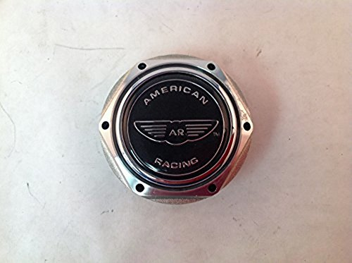 American Racing AR Cap AR699 Aluminum Forged Acrylic LGO Razor/Rebel O-Ring Center Cap