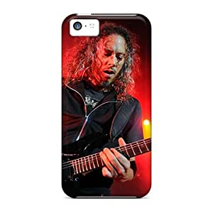 Bumper Hard Phone Case For Iphone 5c With Provide Private Custom Attractive Metallica Pictures AnnaDubois