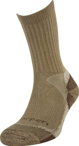 Lorpen Hunting Coolmax 2 Pack Socks (Khaki, Large)
