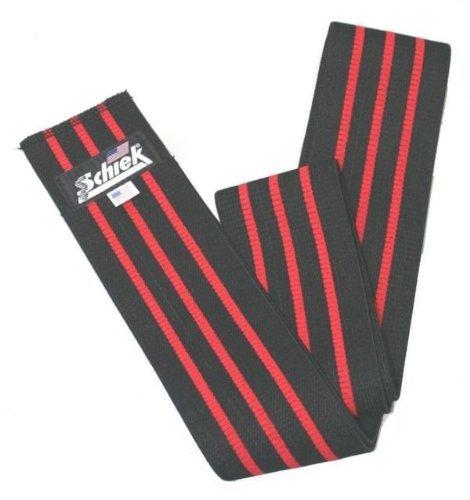 Buy schiek 78in heavy duty knee wrap black