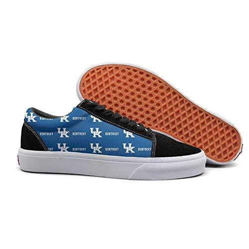 30bfc9be2a24 JDWESA Men s Retro Canvas Shoes lace up Shoes