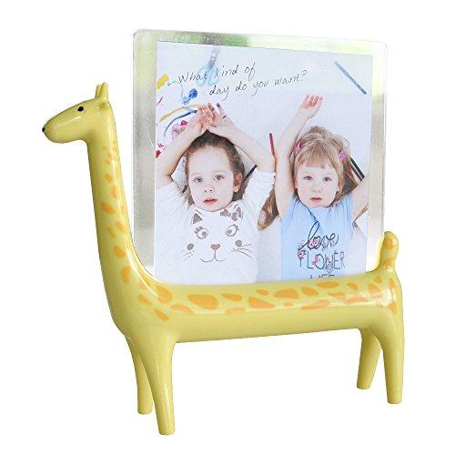 Giraffe Photo Frame Picture Holder for Safari Jungle Zoo Theme Nursery Decorations