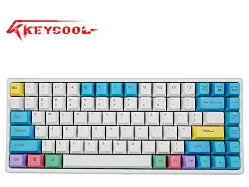 (Keycool Hero 84 2018 Edition Mechanical Keyboard Cherry MX Switches Mini Gaming 84 Keys Keyboard (Cherry MX)