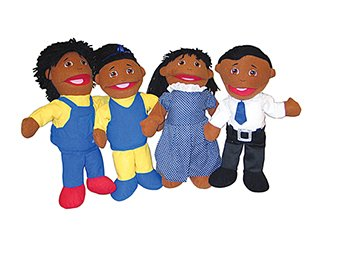 Search : Mtc421 - Family Puppet Set African American