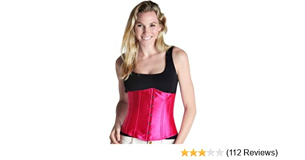 8f2839b36a5 Amazon.com  Bonitaz Women s Plus-Size Classic Underbust Waist Cincher Corset