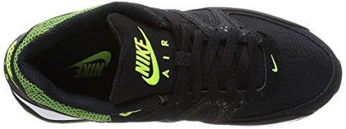 Nike WMNS AIR MAX COMMAND - Zapatillas Mujer Mehrfarbig (BLACK/BLACK-VOLT)