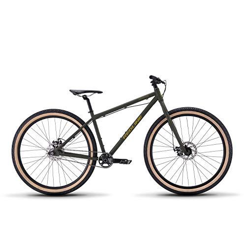 Redline Bikes Monocog 29 Single Speed Mountain Bike, Green