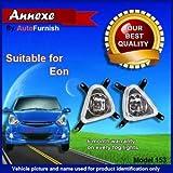 Autofurnish Hyundai Eon Fog Light Lamp Set Of 2 Pcs.