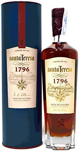 Santa Teresa Ron Oscuro Añejo 1796-700 ml: Amazon.es ...