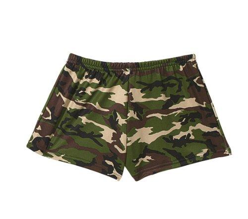 Woodland Camo Hot Shorts-XL