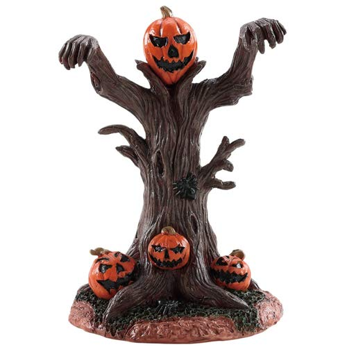 (Lemax Halloween Village Evil Pumpkin Tree)