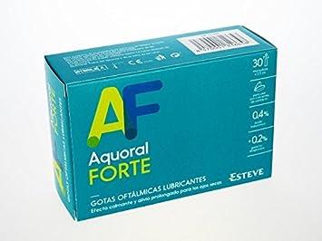 Aquoral Forte Gotas Oftálmicas C/ Ac Hialurónico 0,4% 30 Monod: Amazon.es: Salud y cuidado personal