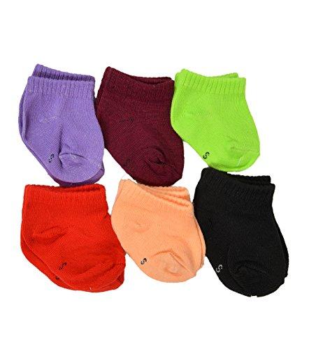 Crux amp;hunter cotton solid colours socks for infants
