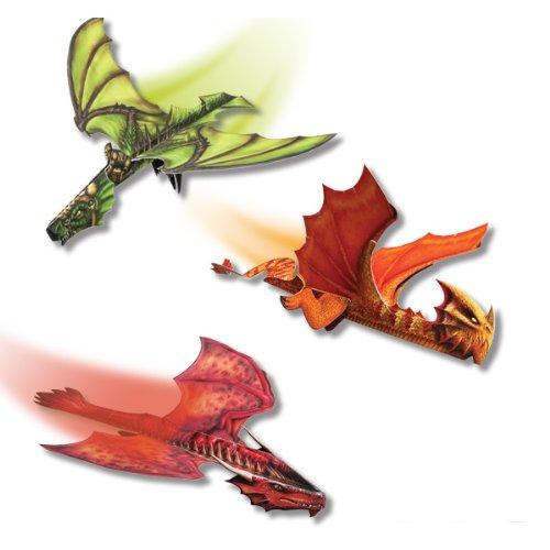 41o%2B0tnF92L - Klutz Paper Flying Dragons Craft Kit