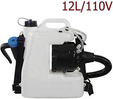 電気スプレー噴霧 10Lリュック農業距離8-10メートル病院駅スクールグルメショップ消毒のためのガーデンスプレー,Ab