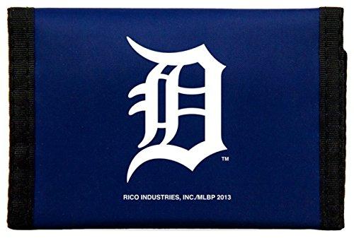 Rico MLB Detroit Tigers Nylon Trifold Wallet ()