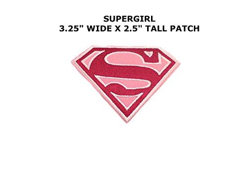 Super Hero DC Comics Supergirl Iron or Sew-on Patch (Comic Costume Dc Supergirl)