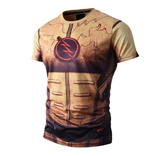 Superhero Compression Shirt Bodybuilding T Shirts product image