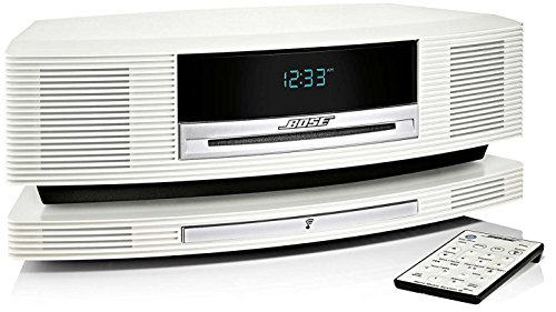 Bose Wave SoundTouch Music System III in High-Gloss Pearl White, Limited Edition Bose @ 50 th Year Anniversary, Rare Commemorative Collectible Bose
