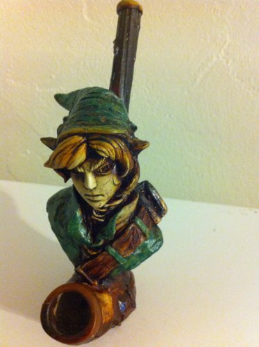 JCUNIVERSAL® - Handmade Tobacco Pipe, The Legend of Zelda on Link Design by JC UNIVERSAL