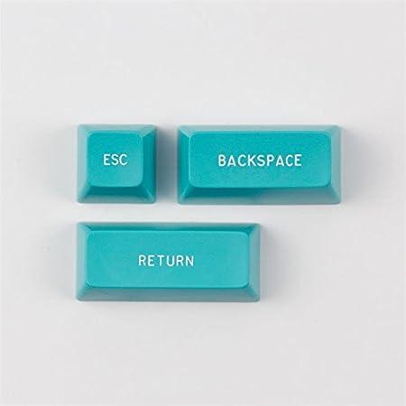SA Height Keycap ESC Backspace Enter Key to Add Maxkey Mechanical Keyboard Keycap 3 Keycaps,Purple SSSLG Keycaps