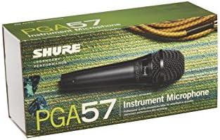 Amazon.com: Shure PGA57-LC Cardioid Dynamic Instrument Microphone ...
