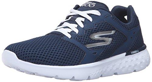 Skechers Performance Women's Go Run 400 Running Shoe, Navy/White, 8.5 M US