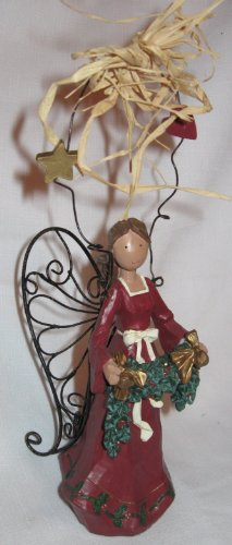 Country Angel Decoration Ornament