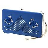 Coin Pocket Wallet,Female Butterfly Long Wallet Lunch Box Wallet Clutch Bag Mobile Phone Bag Purse,Cash Register Bags