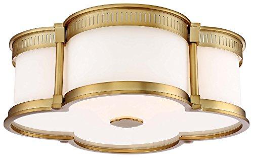 Gold 3 Light Flush (Minka Lavery 824-249 Minka 824-249Three Light Flush Mounts Collection Collectionthree)