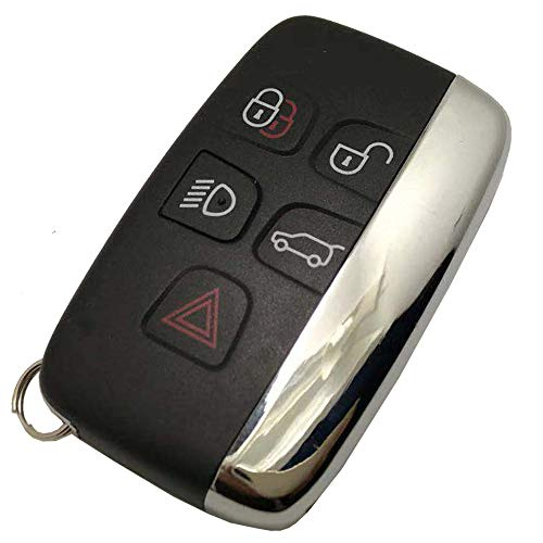 (Replacement Smart Car Key Fob Cover for Range Rover Key Fob Case Entry Keyless Remote Control Key)